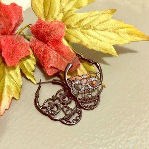 New!! Just added! Sugar Skull Earrings